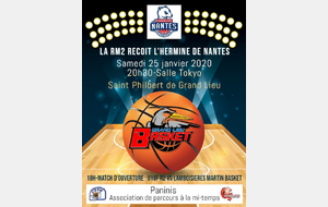 USSM Basket - A l'affiche ce weekend RM2&DM2